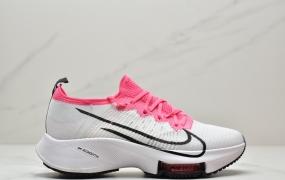 """耐克/Nike Air Zoom Tempo NEXT%""""Orange/Purple/White/Yellow""""竞速马拉松气垫轻量超跑竞速运动慢跑鞋"""