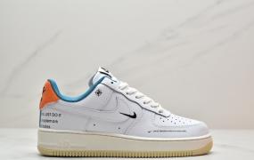 """耐克Nike Air Force 1'07 LE""""Starfish""""空军一号经典低帮百搭休闲运动板鞋"""