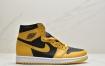 """乔丹 Air Jordan 1 High OG """"Pollen""""中帮篮球鞋"""