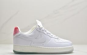 """耐克Nike Air Force 1 Prm """"Got'em"""" 空军一号白粉寿桃低帮运动板鞋"""