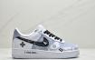 耐克Nike Air Force 1 Low'07 黑白灰空军一号低帮PS5电玩主题休闲板鞋