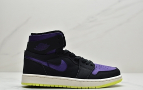 "乔丹/Air Jordan aj1 Air Jordan 1 Zoom CMFT ""Summit White"" 高帮实战篮球鞋"