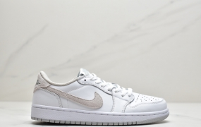 "Air Jordan 1 Low OG ""Neutral Grey""白灰 低帮篮球鞋"