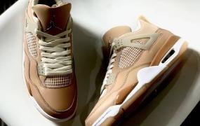 """近距离观察 Air Jordan 4 """"Shimmer"""""""