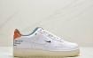 耐克 Nike Air Force1 白绿橙 空军一号休闲运动板鞋