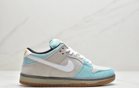 "Plus Skate Shop x Nike SB Dunk Low ""Gulf of Mexico""低帮运动板鞋"