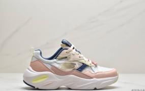 Skeche 斯凯奇 女鞋2021春夏老爹鞋网面透气拼接休闲运动鞋