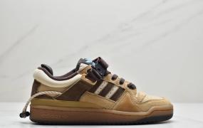 阿迪达斯 Adidas BAD BUNNY FORUM 低帮百搭潮流休闲运动板鞋