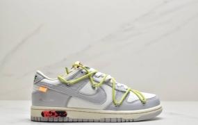 "Off-White™ x Nike SB Dunk Low""The 50″扣篮系列低帮经典百搭休闲运动板鞋""OW黑衣粉紫"""