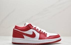 乔丹 Air Jordan 1 Low Gym Red 体育红 芝加哥 大学红