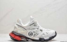 """巴黎世家BALENCIAGA Track 2 Sneakers""""Army Green/Black""""轨道2代复古野跑姥爹潮流百搭慢跑鞋"""