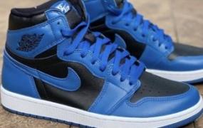 """Air Jordan 1 High OG """"Dark Marina Blue"""" 细节图"""