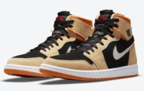 "Air Jordan 1 Zoom CMFT ""Pumpkin Spice"" 秋季发售"