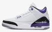 白色和紫色 Air Jordan 3 2022 年夏季发售