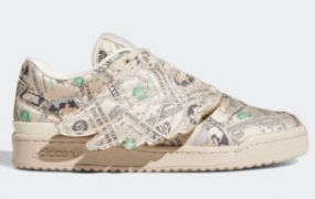 "Jeremy Scott x adidas Forum Low Wings ""Money"" 官方照片"