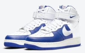 NBA x Nike Air Force 1 皇家白配色高发布