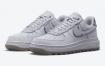 Nike Air Force 1 Luxe 出现在紫色染料中