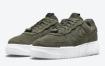 深绿色麂皮覆盖这款 Nike Air Force 1 Pixel