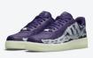"Nike Air Force 1 ""Purple Skeleton"" 官方照片"