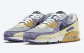 Nike Air Max 90 NRG 出现在 Court Purple 和 Lemon Drop 中