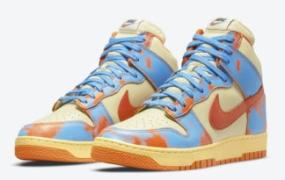 """Nike Dunk High 1985""""Orange Acid Wash""""官方照片"""
