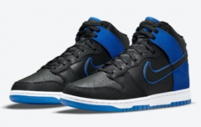 这款 Nike Dunk High 带有迷彩和反光细节