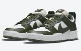 "Nike Dunk Low Disrupt 出现在""深绿色""中"