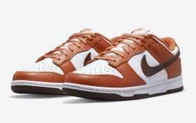 "Nike Dunk Low ""Reverse Mesa Orange"" 官方照片"