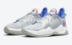 Nike PG 5 以粉色和蓝色为主色调的银色配色亮相
