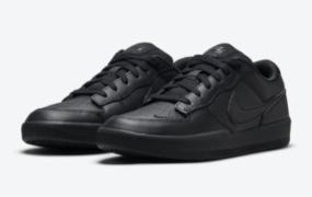 Nike SB Force 58 Premium 全黑配色