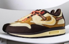"""Travis Scott x Nike Air Max 1 """"Baroque Brown"""" 详细介绍"""