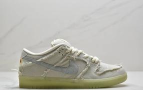 """全新Nike SB Dunk Low""""Mummy""""扣篮系列低帮休闲运动滑板板鞋""""卡其麻布木乃伊夜光灰车线"""""""