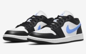 这款 Air Jordan 1 Low 上的 Tar Heels Vibes