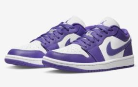 "Air Jordan 1 Low ""Psychic Purple"" 即将发售"