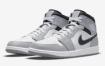 "Air Jordan 1 ""Light Smoke Grey"" 中底鞋面"