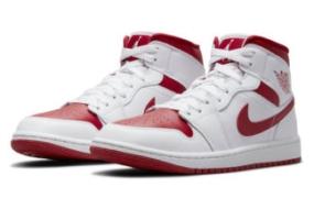 "Air Jordan 1 Mid ""Red Toe"" 即将发售"