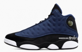 "Air Jordan 13 ""Brave Blue"" 2022 年夏季发售"