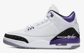"Air Jordan 3 ""Dark Iris"" 2022 年夏季发售"