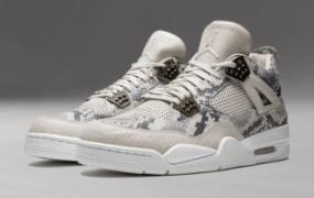 """运动鞋谈:Air Jordan 4 Premium """"Snakeskin"""""""