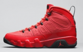 "Air Jordan 9 ""Chile Red"" 推迟至 2022 年 2 月发售"