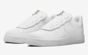 "Nike Air Force 1 Low ""Shroud"" 搭配 Swoosh 拉链"