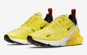 Nike Air Max 270 亮黄色登场