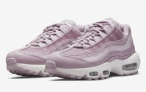 这款 Nike Air Max 95 带有粉红色迷彩