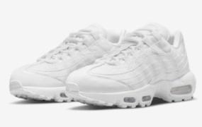 "Nike Air Max 95 Next Nature 全新""三重白""登场"