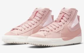 "Nike Blazer Mid '77 Jumbo ""Pink Oxford"" 即将推出"