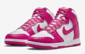 """Nike Dunk High """"Pink Prime"""" 官方照片"""