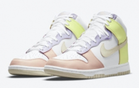 "Nike Dunk High ""Cashmere"" 10 月 20 日发售"