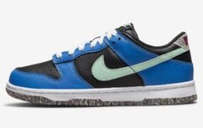 童装 Nike Dunk Low 采用再生材料制成