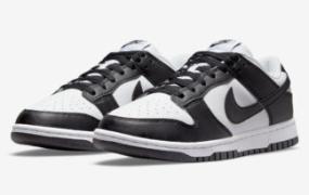 "Nike Dunk Low Next Nature 以""白/黑""登场"