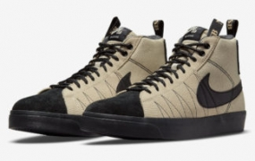 "Nike SB Blazer Mid Premium""Acclimate Pack""以棕褐色亮相"